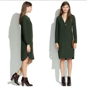 🍁Madewell Dress - Army Green Color